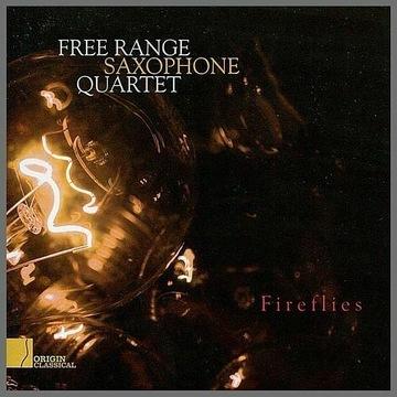 Free Range Saxophone Quartet - Fireflies (CD)