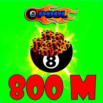 8 BALL POOL Coins/Żetony 800M NAJTANIEJ!!