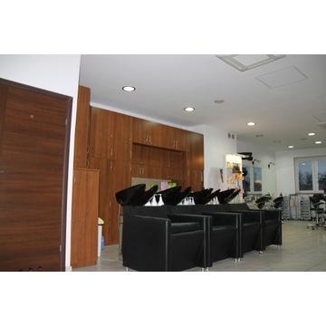 4* Myjnia fryzjerska fotele fryzjerskie wózki