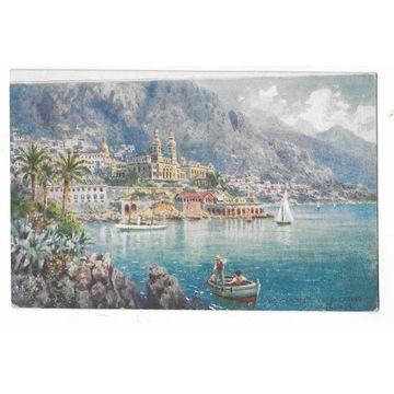 #T11 Monte Carlo - Villes de France. Tuck. Oilette