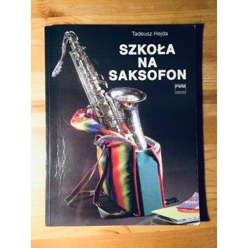 Tadeusz Hejda Szkoła na saksofon pwm edition