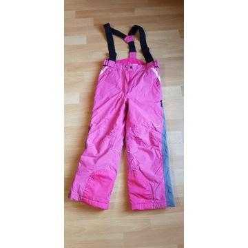 Spodnie narciarskie dziewczęce 8 lat