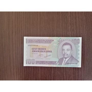 Burundi 100 FRANCS - UNC