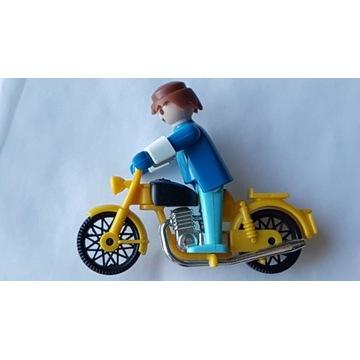 UNIKAT z lat 70-tych - Motocyklista