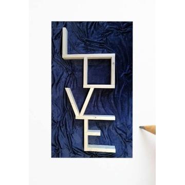 Półka stojąca/wisząca Love