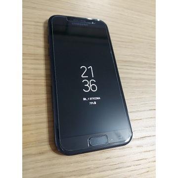 Samsung A5 2017 czarny, stan bdb + etui i 2xszkło