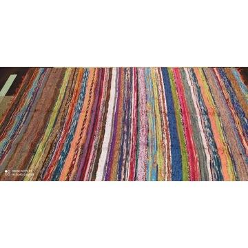 Dywan bawełniany Indyjskie 80x180 cm wielokolorowy