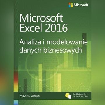Microsoft Excel2016 Analiza i modelowanie danych