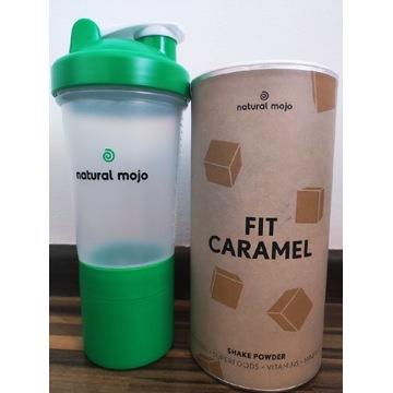 Fit Caramel koktajl karmelowy Natural Mojo szejker