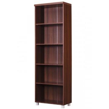 Regał biurowy, na książki, 60x190x36 ciemny orzech