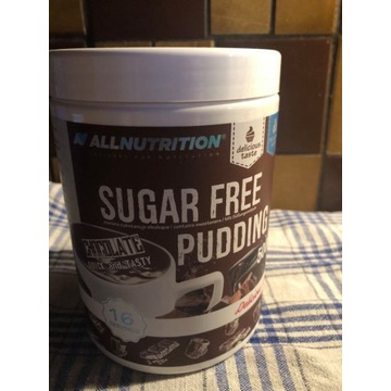 ALLNUTRITION Sugar free puding chocolate 500g