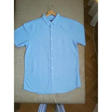 Koszula męska niebieska Primark XXL