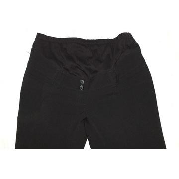Spodnie ciążowe czarne eleganckie kant C&A 38 / 40