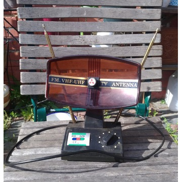stara antena wewnetrzna  fm vhf uhf tv antenna