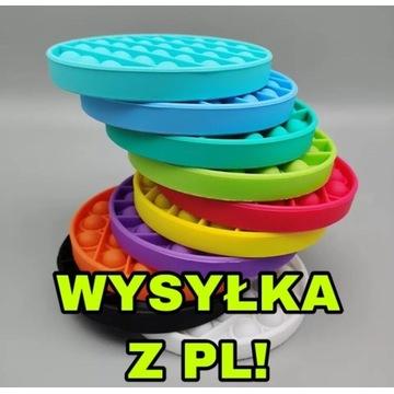 POP IT! Zabawka Sensoryczna RÓŻNE KOLORY