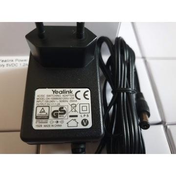 Zasilacz PSU Yealink 5V 1.2 A Power Supply