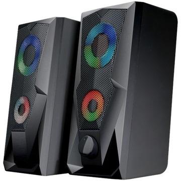 BATTLETRON głośniki komputerowe do gier RGB