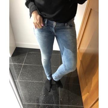 Piękne jeansy Pepe jeans 27/32 jak nowe