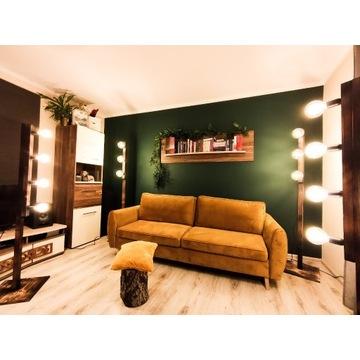 Lampa retro, lampa loft drewniana rustykal