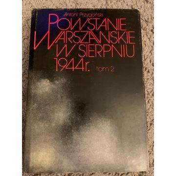 Powstanie Warszawskie  tom 2     A. Przygoński