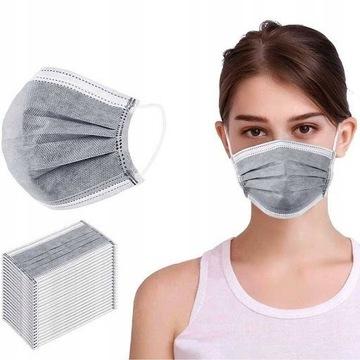 Maska Maseczka Ochronna Higieniczna Chirurgiczna