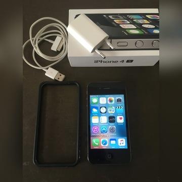 Smartfon Apple iPhone 4S czarny 8 GB