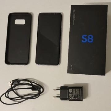 Samsung Galaxy S8 + nowa bateria + etui