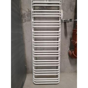 Grzejnik łazienkowy REZERWACJA wysoki biały 157 cm
