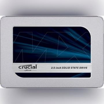Dysk SSD Crucial MX500 2TB SATA3