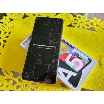 Samsung A51 SM-A515 folie gwarancja jak nowy