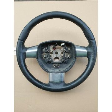Kierownica skórzana trójramienna Ford Focus mk2