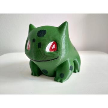 Doniczka pokemon Bulbasaur druk 3d