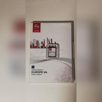 NISSAN MAPA KARTA CONNECT 3 V4 POLSKA +EU BOX 2019