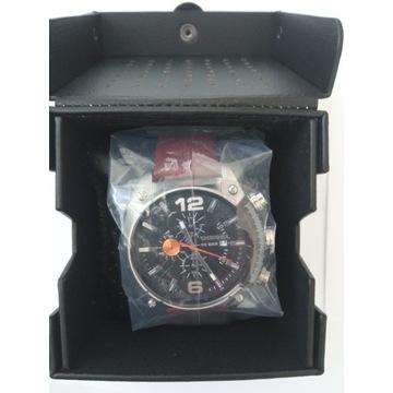 Nowy oryginalny DIESEL DZ4204 zegarek skórzany pas