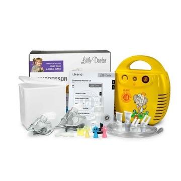 Nebulizator Inhalator kolorowy dla dzieci NOWY