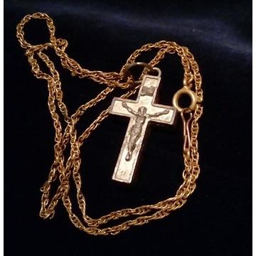 enkolpion grecki / krzyż relikwiarz