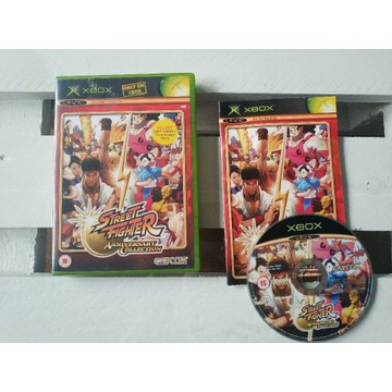 __ STREET FIGHTER ANNIVERSARY COLLECTION XBOX __