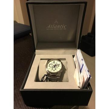 Zegarek meski Atlantic chronograph na rekę