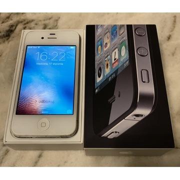 IPhone 4s, biały 16 GB, iPhone- działa idealnie