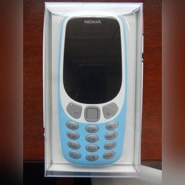 Nokia 3310 Dual SIM 3G niebieska gwarancja 24mce