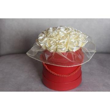 FLOWER BOX RÓŻE HANDMADE