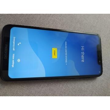 Motorola One 4/64GB Dual SIM czarny + etui