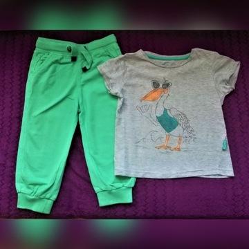 Spodnie i bluzka 86, Smyk i Reserved