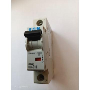 Wyłącznik nadprądowy bezpiecznik c10 Eaton