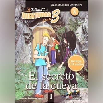 Aventuras para 3 - El secreto de la cueva + CD