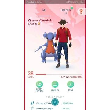 Konto pokemon go