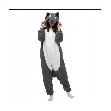 Kigurumi wilk piżama