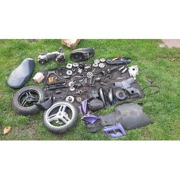 Dużo części Peugeot ludix Vivacity buxy Jet force