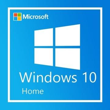 Microsoft Windows 10 Home 32/64 Bit Klucz PL