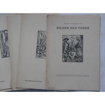 HANS HOLBEIN BILDES DES TODES 1945 R.  39 KART